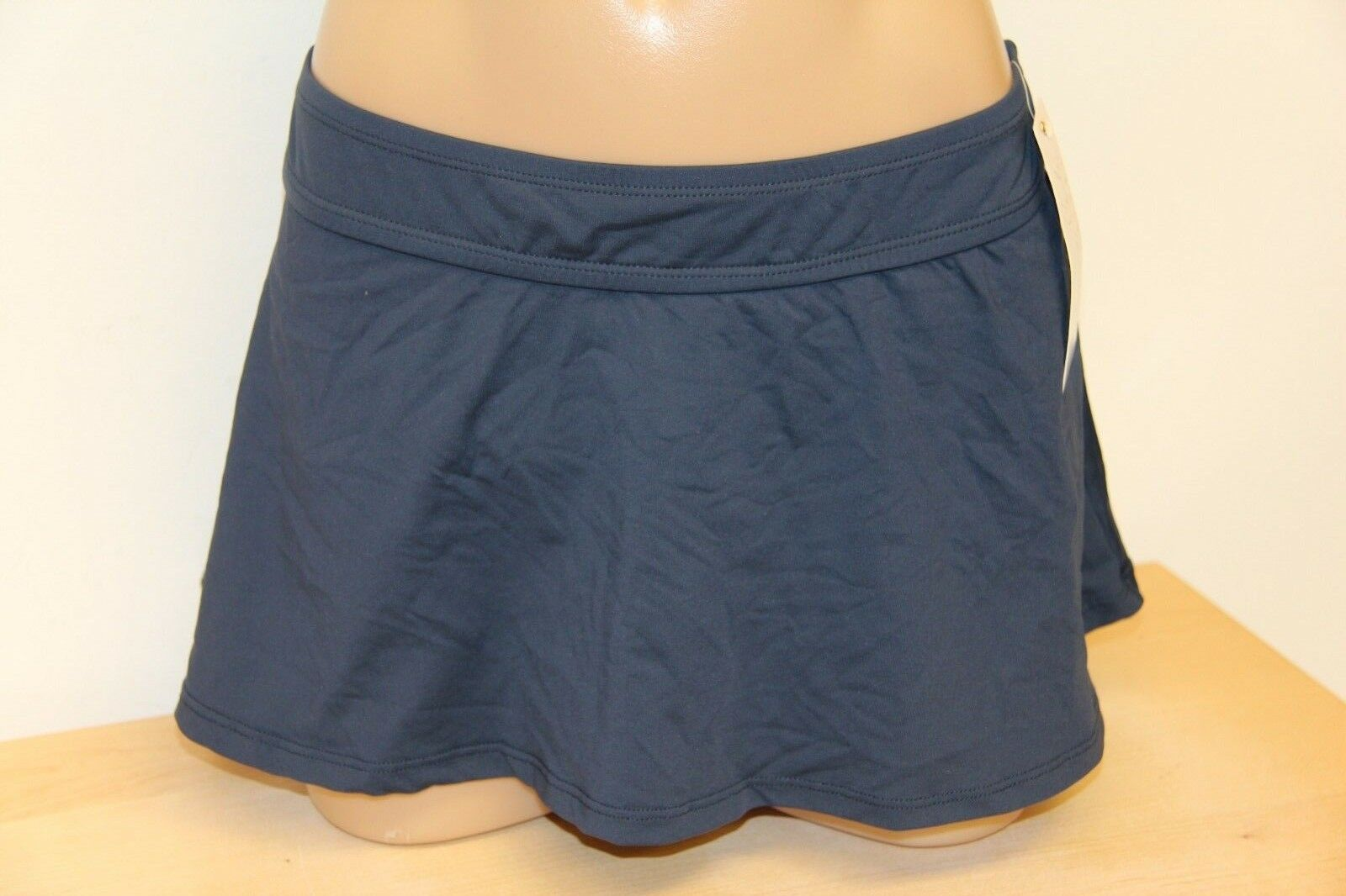 NWT Anne Cole Swimsuit Bikini Bikini Bikini Tankini 2 pc set Sz S Skirt Navy Green 137284