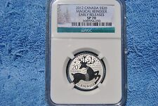 Canada, $20, NGC, $20 for $20 Magical Reindeer, SP70, Early Release