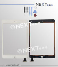 TOUCH SCREEN Per Apple iPad Mini 1 A1432 A1454 A1455 WiFi 3G bianco + kit