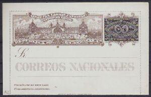 Guatemala-P-9-Ganzsache-1897-GA-ungebraucht