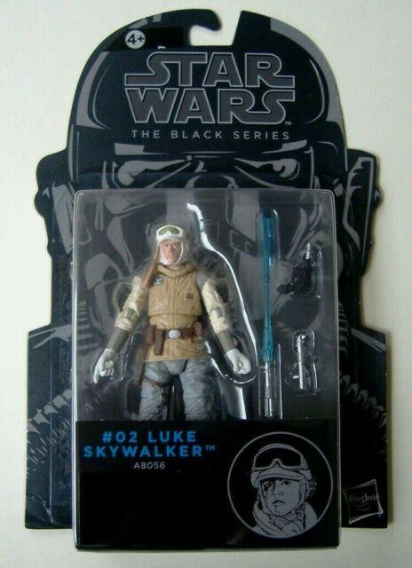 Star Wars Black Series Luke Skywalker (Hoth) Action Figure - #02