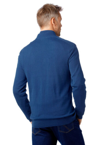 NUOVO!!! 3xl Grey CONNECTION Maglione Troyer blu TG