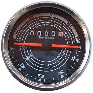 Traktormeter passend Krieger Holder Schanzlin rechts drehend bis 30 km//h   60281