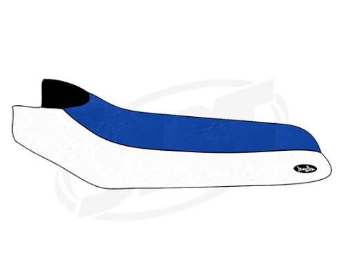 Polaris Polaris Polaris Sitzbezug Sl 650 750  780 700 700 Deluxe Königsblau Weiß ee14b5