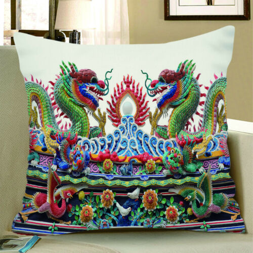 Wildlife Animal Cushion Cover Bed Pillowcase Decorative Soft Pillow Cover