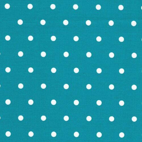 100/% Tela De Algodón Confección Colchas geométrica Gasolina AZUL-Mono PEA punto