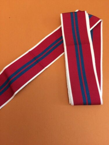 "Replacement Medal Ribbon Queen/'s Coronation 1953 6/"" Length"