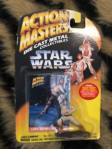 Star-Wars-Action-Masters-Luke-Skywalker-Die-Cast-Metal-Collectible-Figure-Kenner