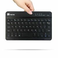 7-inch Wireless Bluetooth Keyboard For Samsung Galaxy Tab A 8.0 Tablet Sm-t350