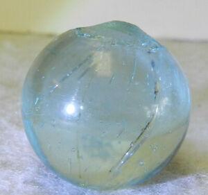 7359m Very Nice Vintage German Handmade Clearie Marble .79 Inches *Mint*