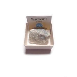 Cuarzo-Azul-piedra-en-bruto-natural-en-cajita-de-coleccion-4x4-envio-gratis
