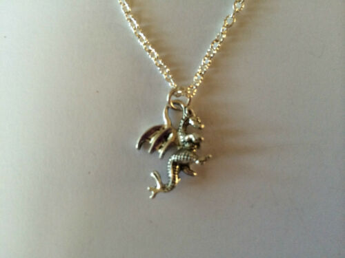 FUNKY DRAGON EARRING NECKLACE SET GOTHIC PUNK EMO VALENTINE Gift Present