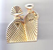RARE PINS PIN'S .. BEAUTE PARFUM PERFUME MODE LUXE PARIS UNGARO DOUBLE OR 3D ~CR