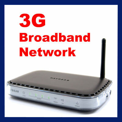 3G Mobile Broadband Wireless Router