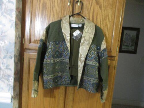 Jacket Vintage 1990's Gantos Sz Turtleneck Multi Sweater Ny W Stor Cropped Gre OtTBBq