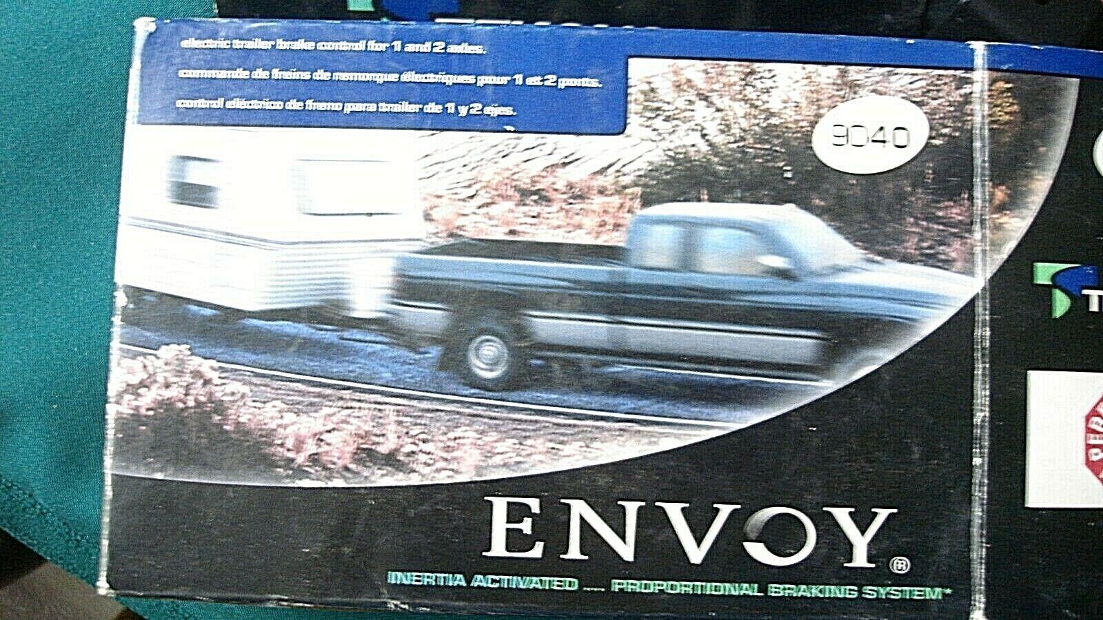 tekonsha envoy electric trailer brake control controller 9040 for sale online ebay tekonsha envoy electric trailer brake control controller 9040