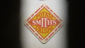 1960s-AUSTRALIAN-BEER-WINE-SPIRITS-COASTER-SMITH-POTATO-CRISPS