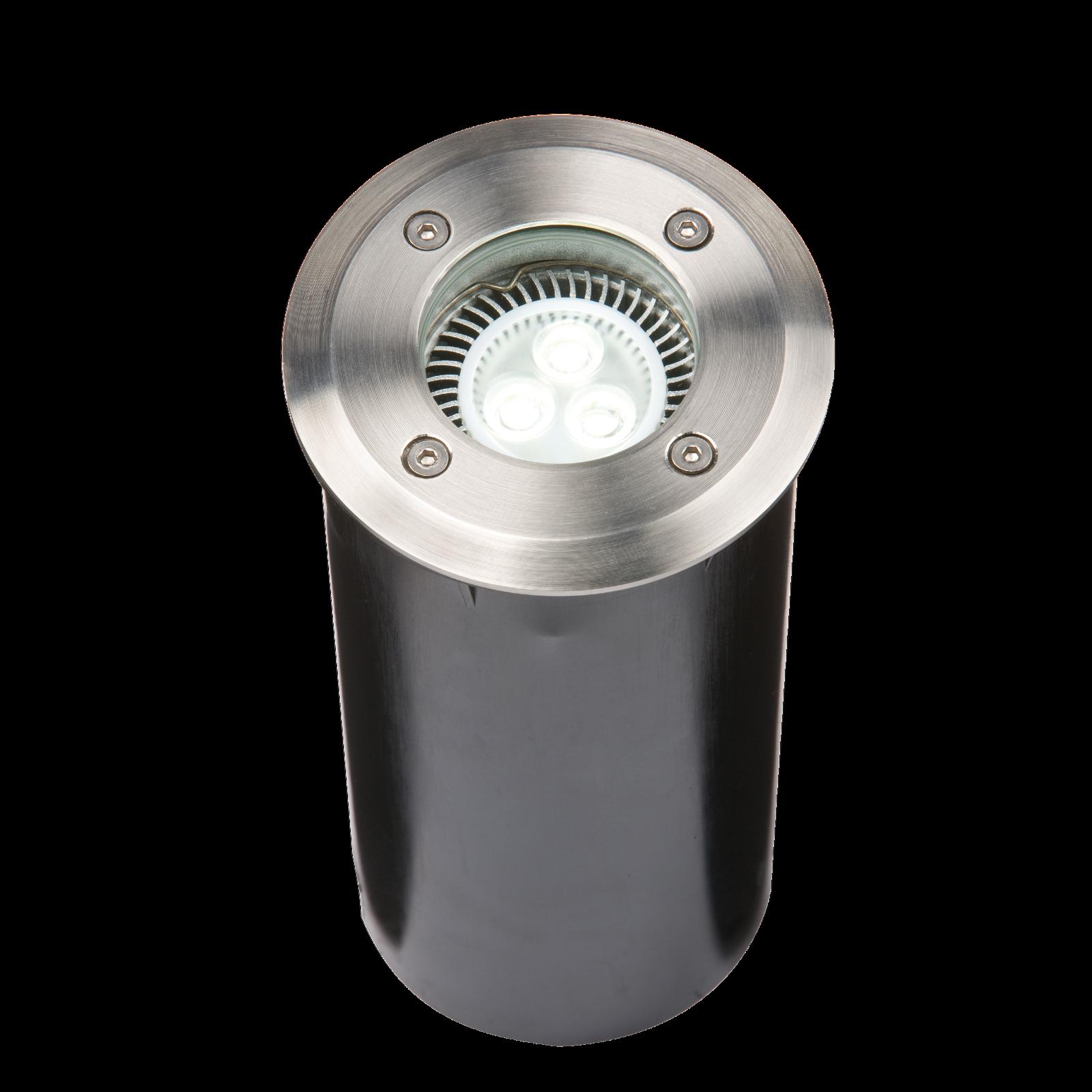 IP67 230V GU10 Acciaio Inox rossoondo a terra luce regolabile WALKOVER corpo di lunga