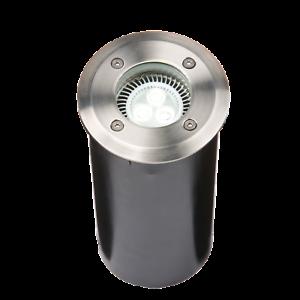 IP67 230V GU10 Acero inoxidable rojoonda tierra Regulable walkover luz cuerpo largo