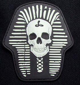 Image Is Loading DEATH SKULL SKELETON KING 3D PVC RUBBER BLACK