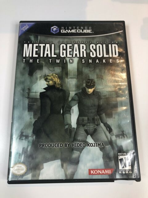 Metal Gear Solid Twin Snakes Nintendo GameCube - Tested, Read Pls! Rare!