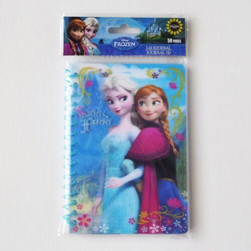 "Disney Frozen Elsa Anna /""Sisters Forever/"" 3D Journal Notebook Autograph Book"