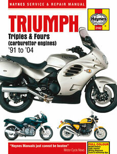 Haynes-Manual-2162-for-Triumph-Adventurer-Sprint-Thunderbird-Sport-Legend-TT