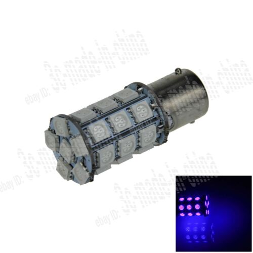 1X Blue 1156 G18 Ba15s 27 5050 LED Turn Signal Rear Light Bulb Lamp D007