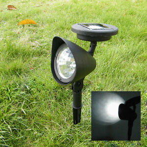 7 LED Solar Spot Lights Color Changing Garden Light Waterproof Outdoor Yard Lamp