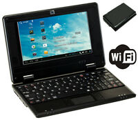"""Mini Laptop Brand 7"""" NETBOOK WIFI Android 4GB Notebook PC New UK Stock"""
