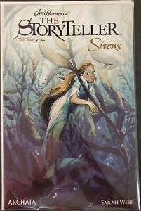Jim-Henson-039-s-The-StoryTeller-Sirens-3-Archaia-Comic-1st-Print-2019-unread-NM