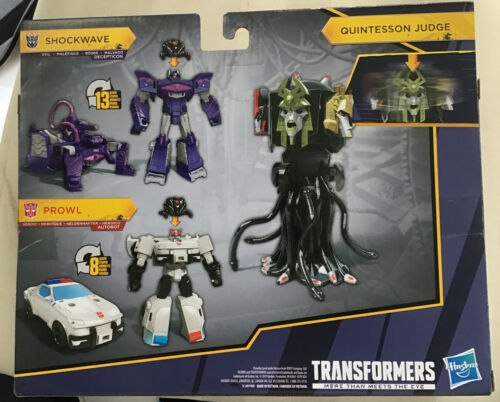New /& Sealed Transformers Cyberverse Quintesson Invasion Cybertronian Villains