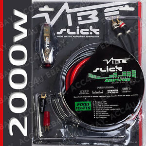 vibe slick 12v 4 awg gauge 2000 watts 2000w car amp amplifier system rh ebay co uk vibe 2000w wiring kit vibe wiring kit review