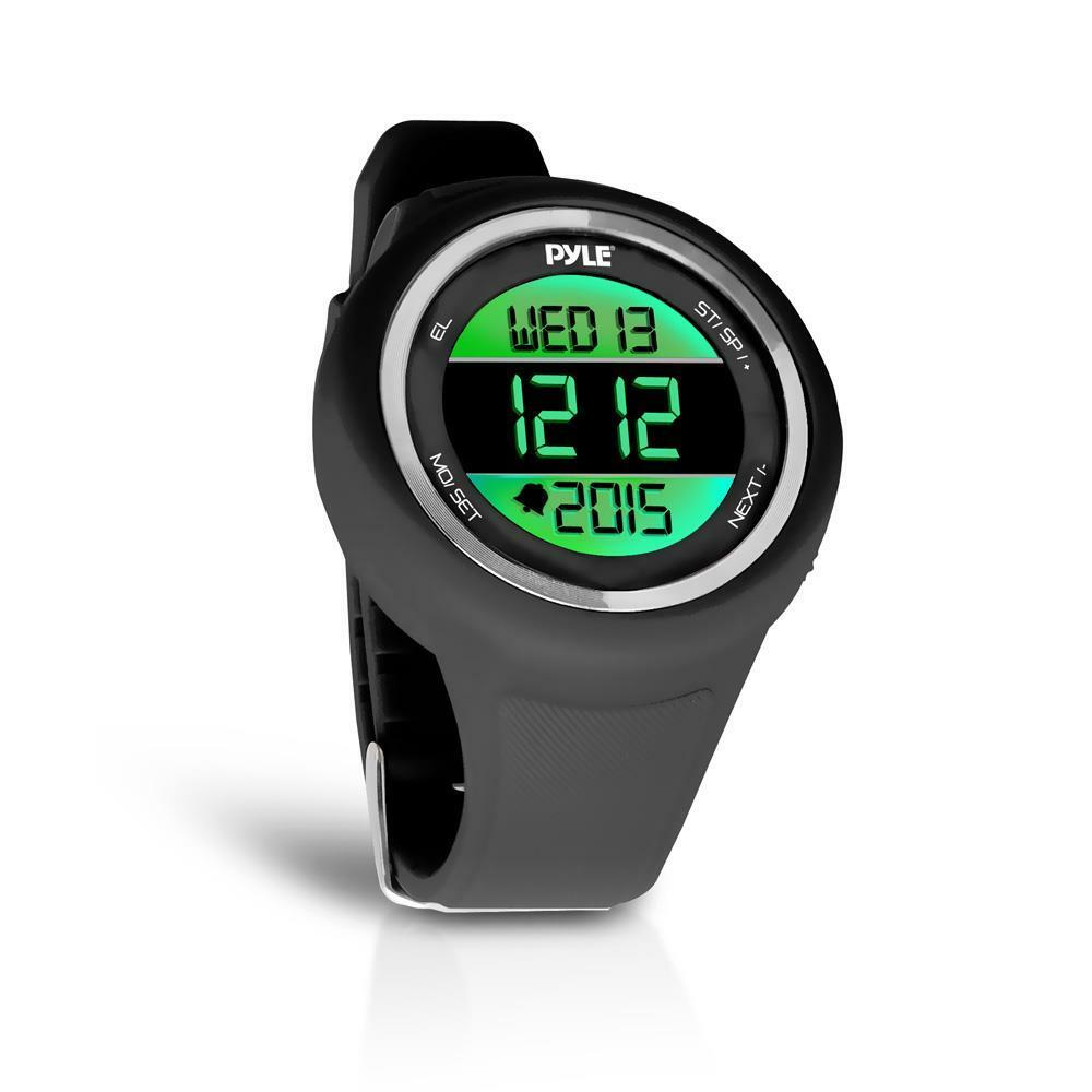 Pyle Go Sport Multi-Function Sports Training Watch, Multi-Alarm, Pedometer Timer
