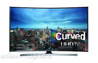 Samsung Un55ju7500 Curved 55-inch 4k Ultra Hd 3d Smart Led Tv