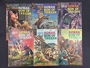 Korak-Son-Of-Tarzan-1966-1968-Gold-Key-Comics-Lot-154-Combined-Shipping