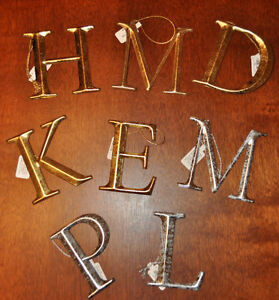 New restoration hardware christmas ornament letters in for Home hardware christmas decorations