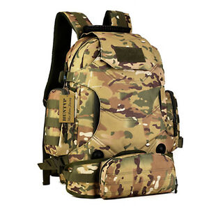 40l Waterproof Tactical Military Molle Assault Backpack Pack Large