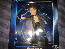 Doctor Who UNDICESIMO DOTTORE figura Pompon HEAD con LIGHT UP cacciavite Sonic.