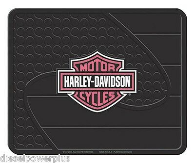 harley davidson utility floor mat welcome shop back rear HD man cave motorcycle