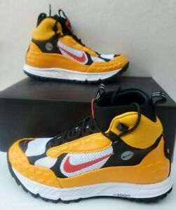 Details about Nike Air Zoom Terra Sertig 16 Hiking Shoes Taxi Yellow Red Men's 7.5 904335 700