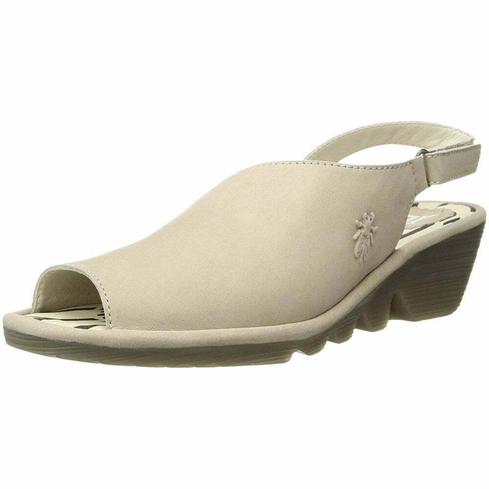 damen Fly London Palp814fly Open Toe Sandals Leather Cloud