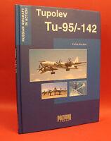 Russian Soviet Tupolev Tu-95/142 Bear Bomber Airplane Photo Book Engl Txt Hc