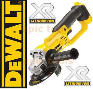NEW-DEWALT-XR-DCG412-18V-Cordless-125mm-5-Angle-Grinder-Bare-Naked-Unit