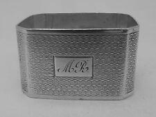 Good HM Silver Napkin Ring (277a) - Birmingham 1936 Deakin & Francis