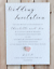 miniature 3 - 10-Mariage-Invitations-soiree-invite-Personnalise-amp-fait-main-avec-enveloppes