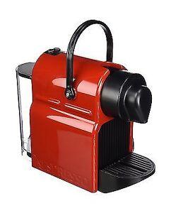 nespresso inissia c40 espresso maker red ebay