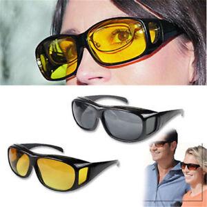 Night Sight Driving Glasses Sunglasses Night Vision Anti Glare Lens
