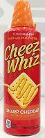 Cheez Whiz Sharp Cheddar Pasteurized Cheese Sauce 8 Oz Cheese Whiz