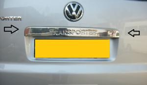 VW Transporter T5-T5.1 Rear Trunk Lid Cover S.Steel 2003-2017